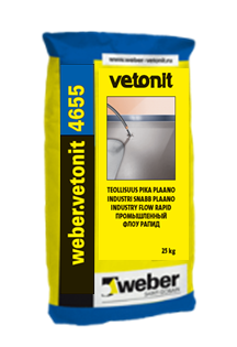 Высокопрочный промышленный наливной пол Weber.vetonit 4655 Industry Flow Rapid - фото 4604