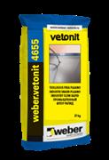 Высокопрочный промышленный наливной пол Weber.vetonit 4655 Industry Flow Rapid
