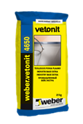 Цветной промышленный наливной пол Weber.vetonit 4650 Design color