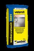 Базовый промышленный наливной пол Weber.vetonit 4601